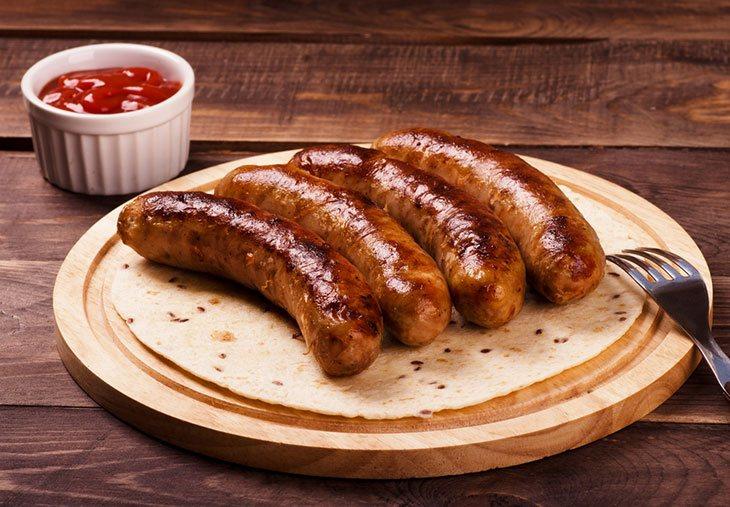 how to smoke a sausage