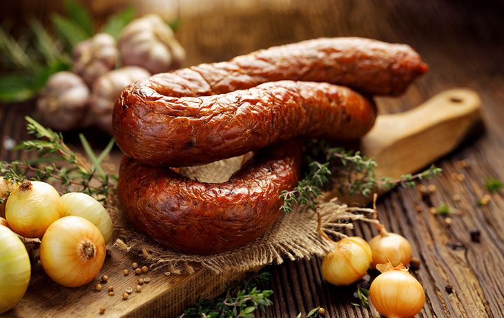 how to smoke sausages on the grill